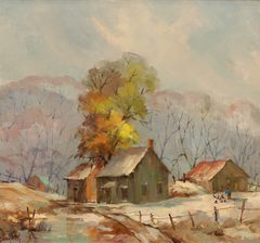 Brown County Farm by James Eccles