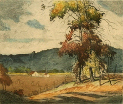 Brown County Landscape by Louis Oscar (L.O.) Griffith
