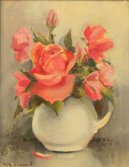 Still Life with Roses by Ruth Bernice Anderson