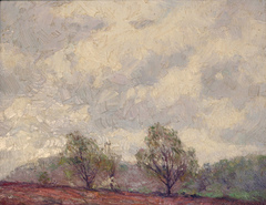 Brown Country landscape