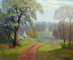Southern Indiana Landscape by Frederick Polley
