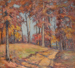 Brown County Path by Homer Gordon Davisson