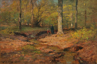 Figures in the Woods
