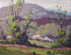 Brown County Spring Landscape by Anthony Buchta