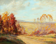 Along Owl Creek Road by Varaldo J. (V.J.) Cariani