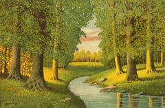 Spring Stream by Carl Lotick