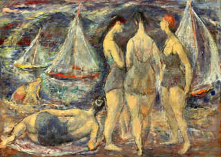 Bathers and Boats