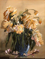 Peonies by John (Jan) Zwara