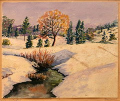 Winter Near Big Bear by Paul Conner