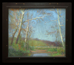 Brown County Spring Landscape by Ada Walter Shulz