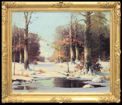 Richmond Winter Landscape by Orrin Draver