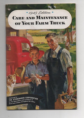 Studebaker 1945 Manual 'Car and Maintenance of your Farm Truck'