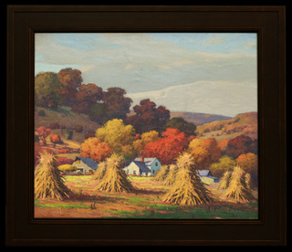 Harvest Time in Peaceful Valley