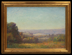 Brown County Overlook by Theodore Clement (T.C.) Steele