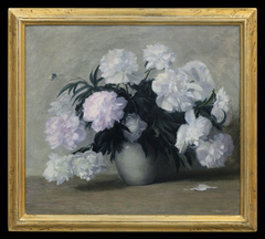 The Peonies' Transient Glory by Varaldo J. (V.J.) Cariani