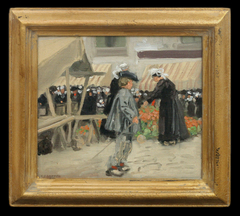 Brittany Flower Market by Louis Oscar (L.O.) Griffith