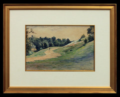 Indiana Landscape with Figure