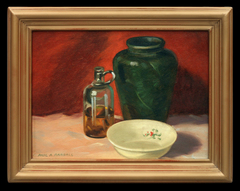Still Life with Vinegar Bottle