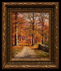 Rocky Autumn Path