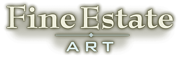 Logo: Fine Estate Art.